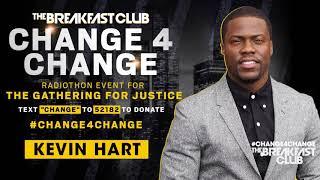 Kevin Hart Donates To #Change4Change