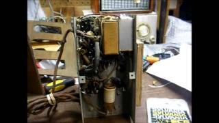 Patching up a 1950 Philco AM/FM tube radio - PakVim net HD