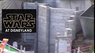 Disneyland - 2/13/18 Star Wars: Galaxy's Edge NEW PICTURES Critter Country Entrance