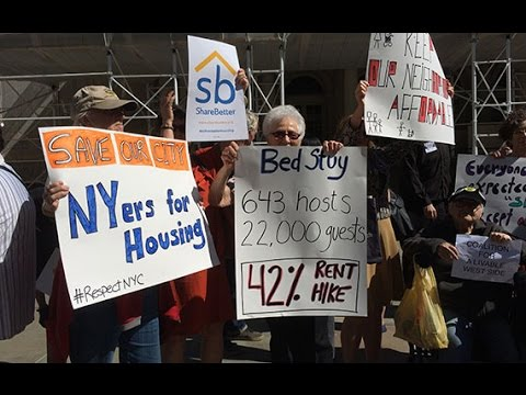 This bill would make it illegal to advertise your entire apt for rent for less than 30 days