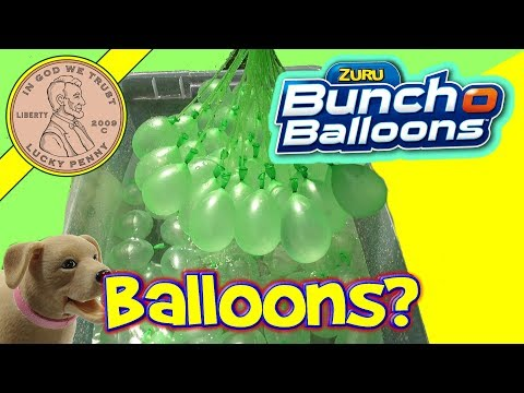 Bunch O Balloons Review 100 water balloons in less than a minute! - Water Balloon Fight!