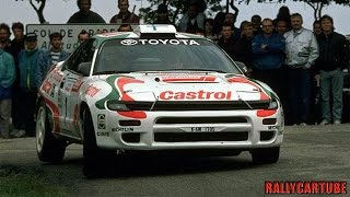 Toyota Celica Turbo ST185 Gruppo A Pure Engine Sound