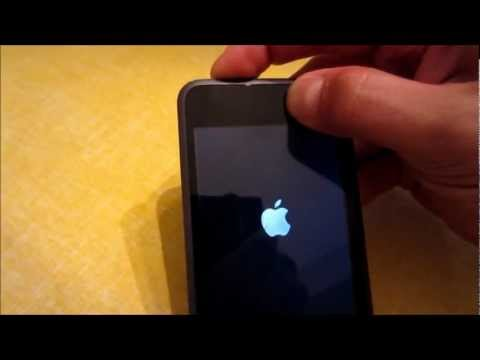 How To Turn On The iPod Touch - How To Turn Off The iPod Touch