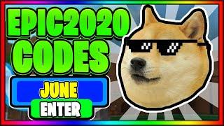 Roblox Epic Minigames Codes 2020 June