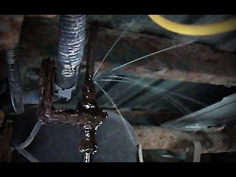 Replacing steel brake line with copper brake line - Bleeding brakes - 1999 Chevy Silverado
