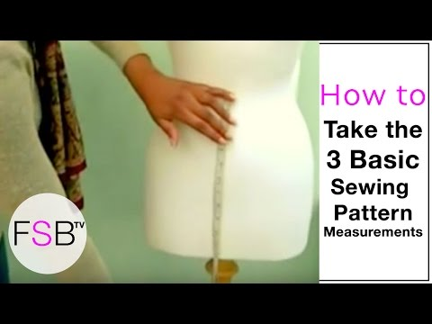 Sewing Pattern Sizes | The Basic Measurements