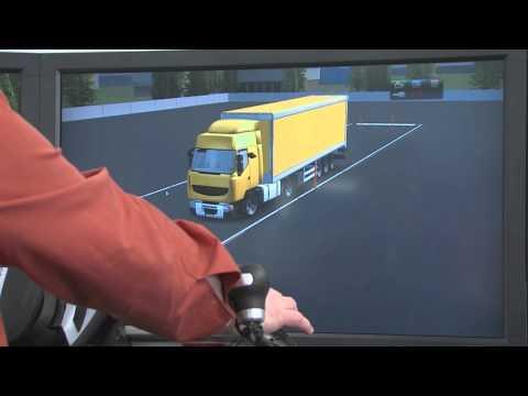 Driving simulator - HGV Manoeuvre Training Simulator