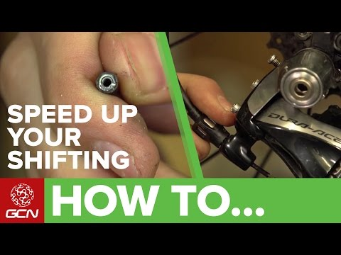 How To Speed Up + Improve Your Gear Shifting | Road Bike Maintenance
