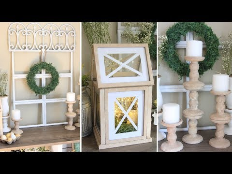 FARMHOUSE DOLLAR TREE  DIY DECOR SPRING 2018