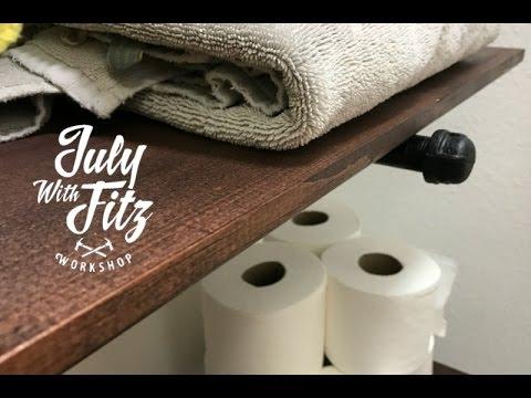 JWF-SIMPLE BATHROOM SHELVES