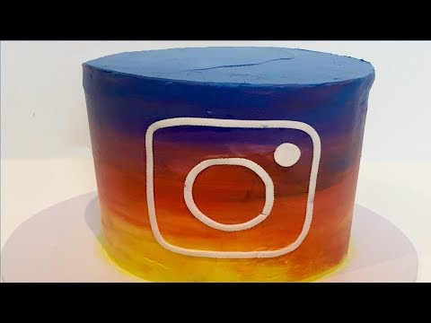New Instagram Logo Cake! | How to make from Creative Cakes by Sharon