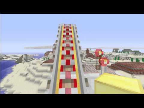 Minecart Station Tutorial (Minecraft Xbox 360) (Intro)