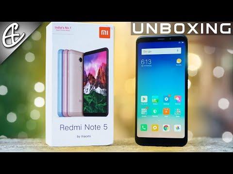 Xiaomi Redmi Note 5 (18:9 Display | 4000 mAh) Unboxing & Hands On!
