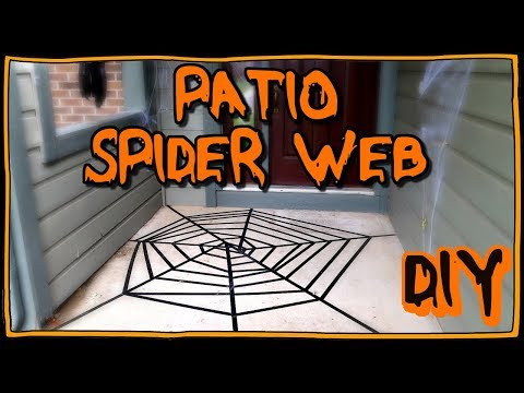 How To Make A Spider Web For Your Patio! | I Am Kristin📍