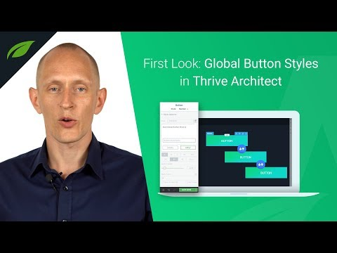 New Feature in Thrive Architect: Global Buttons