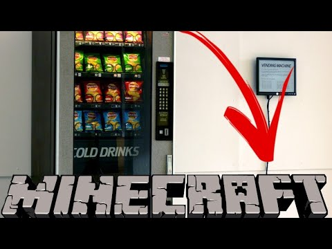 How to make Vending machine (Minecraft pe)