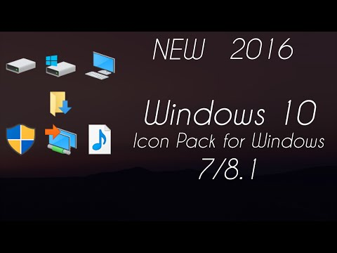 Windows 10 Icon Pack for Windows 7/8.1 [Updated][2016]