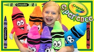 Crayola Experience Orlando    HUGE INDOOR PLAY CENTER