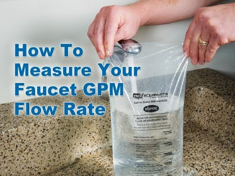 Save Water & Energy: Find Out Your Faucet GPM Flow Rate