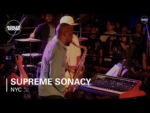 Supreme Sonacy Boiler Room NYC Live Set