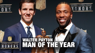 Nfl Walter Payton Man Of The Year Award 2017 Nfl Honors