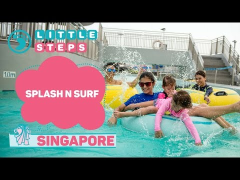 Awesome Water Play Area And Kids Pool In Singapore At Splash N Surf