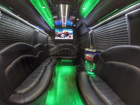 Charleston Limo Bus   2014 Mercedes Executive Limousine