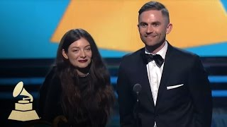 Download Lorde Wins Song of the Year for Royals at 56th GRAMMY Awards | GRAMMYs Video