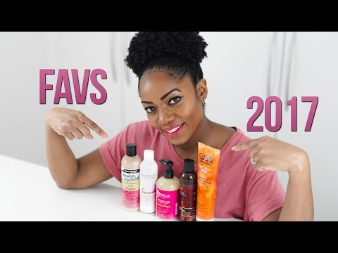 NATURAL HAIR CARE PRODUCTS (My 5 FAVOURITE) (2017)