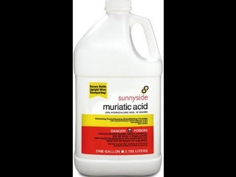 LIQUID MURIATIC ACID VS. DRY ACID (SODIUM BISULFATE)-WHICH IS BETTER?