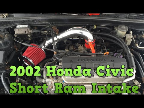 2002 Honda Civic - Short Ram Air Intake Installation