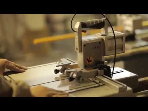 Aluminum Composite Panel (Alucobond) Punching