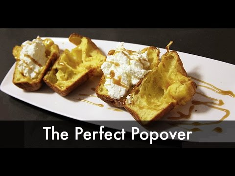 How to Make Easy Perfect Popovers