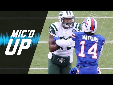 Sammy Watkins Mic'd Up vs. Darrelle Revis (Week 17, 2015) | #MicdUpMondays | NFL