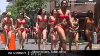 South-Africa Bikini walk by dolly bird.flv