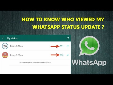 How To Know Who Viewed My WhatsApp Status Update In Hindi | WhatsApp New Features