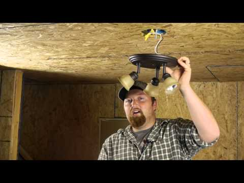 How Do I Remove a Ceiling Light Fixture? : Ceiling Fans & Light Fixtures