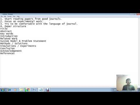 How to publish SCI, SSCI or indexed Journal paper