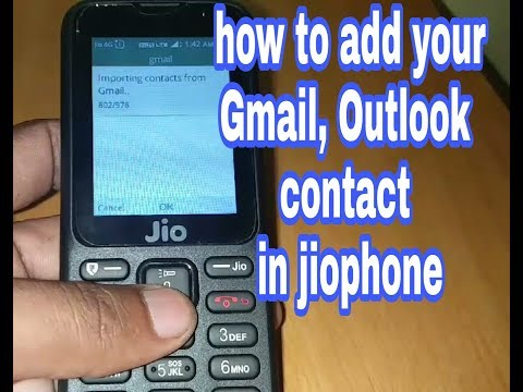 How to add your contact on your Jio Phone