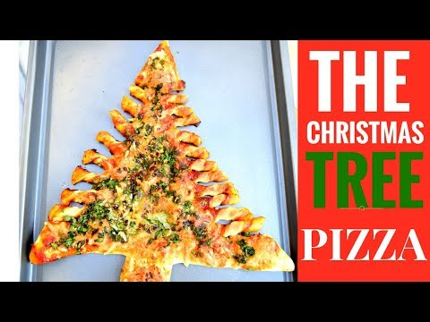 The Christmas Tree Pizza  - Christmas Special │Episode 090│ I'll Eat For Food 2017
