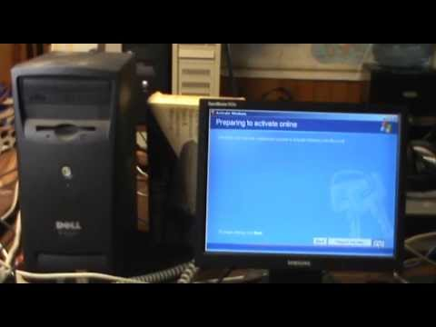 Attempting Windows XP Activation by Modem in 2013