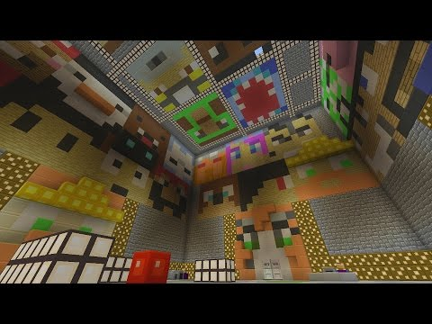 Minecraft Xbox - Lucky Block Youtubers - Hunger Games