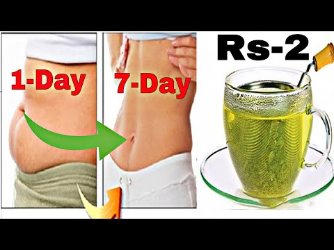 How To Lose Belly Fat In One Week / Full Body Fat Lose Drink