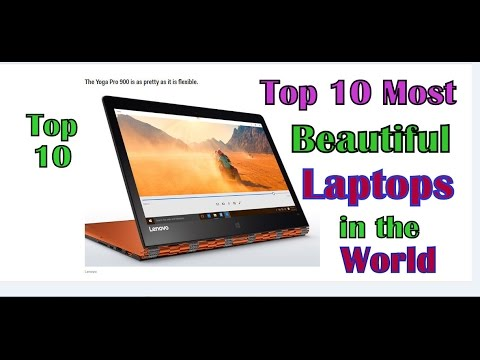 Top 10 most beautiful laptops in the world 2016, According to Business Insider!