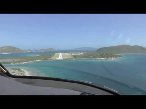Landing Tortola TUPJ