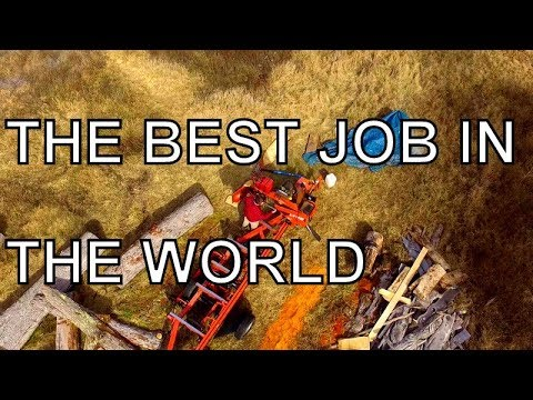 THE BEST JOB IN THE WORLD, RUNNING A SAWMILL
