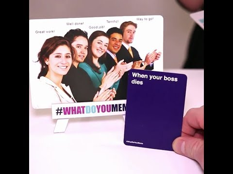 What Do You Meme? Adult Party Game - Commercial