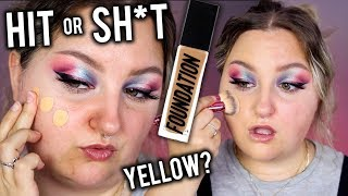 WORTH THE HYPE..? ABH LUMINOUS FOUNDATION REVIEW + WEAR TEST