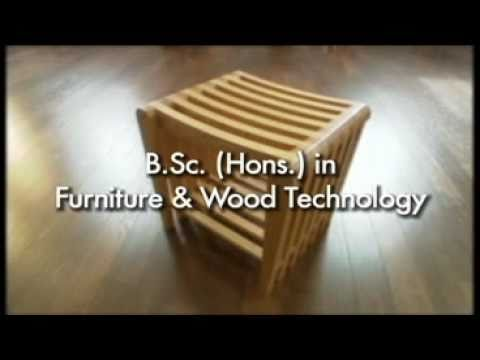 BSs Hons in Furniture & Wood Technology