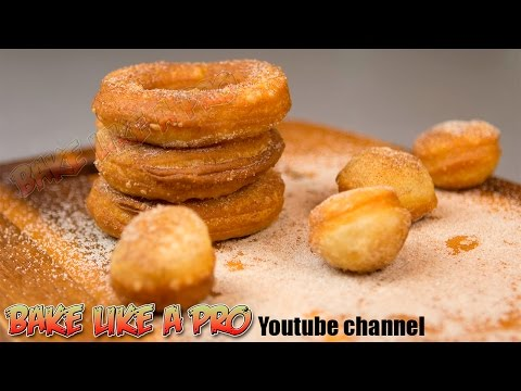 Easy Pizza Dough Donuts Recipe